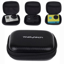 Waterproof Storage Camera Bag Cover Box Protective Bag for Gopro Hero 3 3+ 2 HD sj4000 Accessories Black Edition 8x6x2.5cm