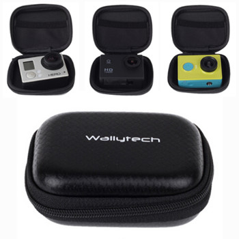 Small Waterproof Storage Camera Bag Cover Box Protective Gopro Case For Gopro Hero 4 Sj4000 Bags Xiaomi Yi Box Accessories(China (Mainland))