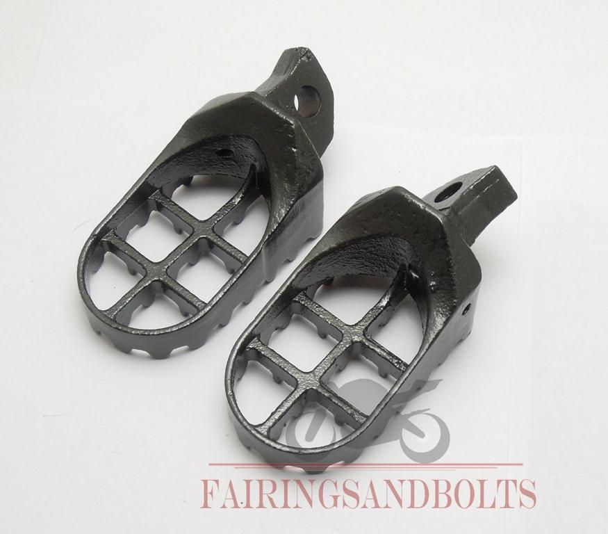 For Kawasaki KX 125/250 Motocross Racing Foot Pegs Footrests WIDE For Kawasaki KX500 KDX250 KDX200/220 Supermoto Parts(China (Mainland))