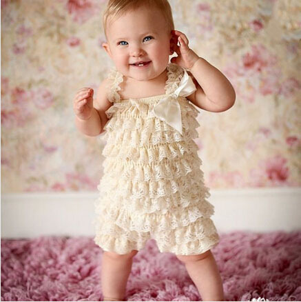hot selling cheap Cute baby boys and girls petti lace romper newborn Infant Jumpsuit kids rompers children clothing<br><br>Aliexpress