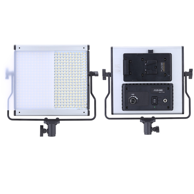 NEW 480pcs LED Camera Video Light Illumination Dimming Dimmable Brightness Adjustment 5600K Panel Lamp(China (Mainland))