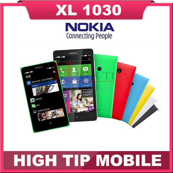 """Dual Sim cards Nokia XL 1030 Cell Phone Dual Core 5.0"""" inch 5MP Camera 3G WCDMA Android Phone Refurbished Free Shipping(China (Mainland))"""