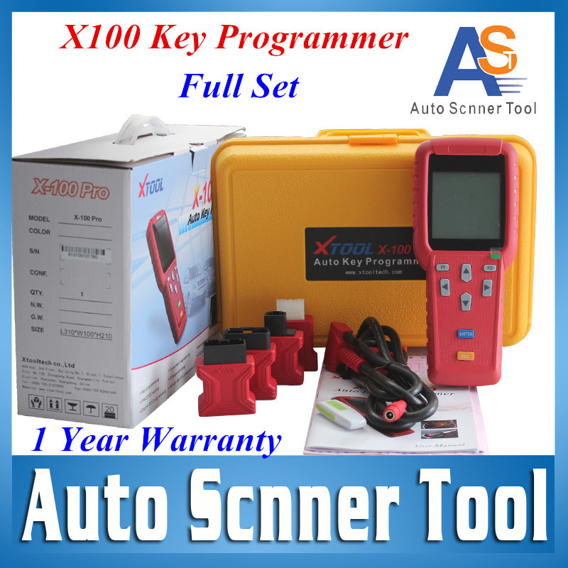 DHL Free X 100 Newest Coming Top X100 Pro Auto Key Programmer 100% Original X-100 Key Pro Programming Keys In Immobilizer Units(China (Mainland))