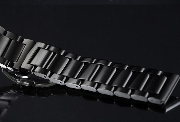 Часы R браслет ремешок для часов 22 мм черный нержавеющей стали часы группы для L G смарт часы аксессуары