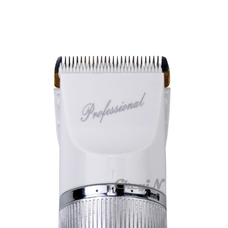 Титан стальное лезвие профессиональные аккумуляторная электрическая машинка для стрижки регулируемый триммер волос резак для мужчин + дополнительный аккумулятор X30