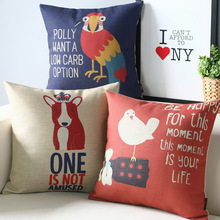 Lovely modern dog bird pillow ,Cartoon Pillow cushion