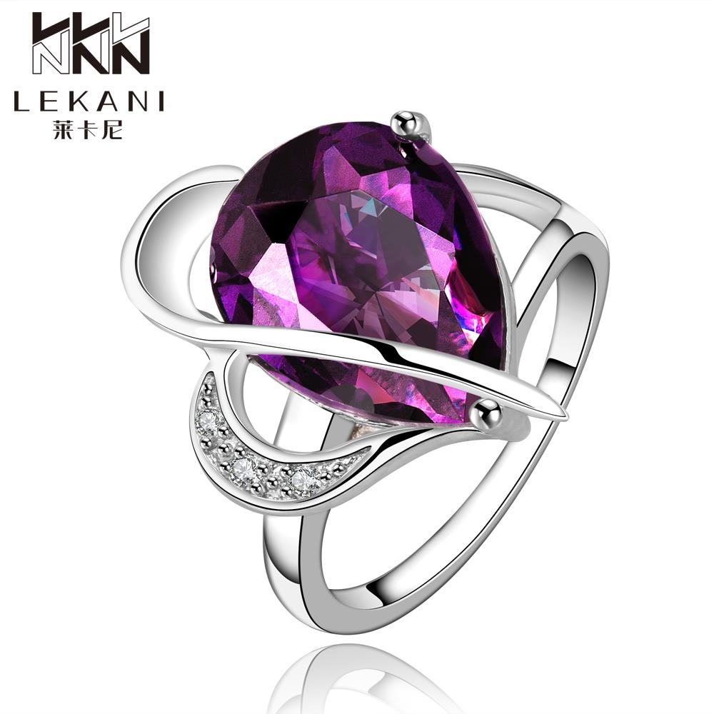 Everything Must Go cuts out purple big crystal bridal anniversary ring sets for Youth unlimited ladies ring FVRR002-8(China (Mainland))