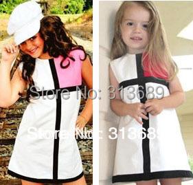 little girls easter dress children's costumes resale clothing toddler dresses kids clothes vestidos roupas infantil meninas nina(China (Mainland))