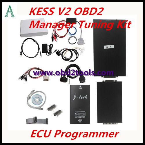 DHL Free shopping kess v2 v2.10 ECU Chip Tuning Programmer KESS V2 OBD2 Manager Tuning Kit one year free warranty(China (Mainland))
