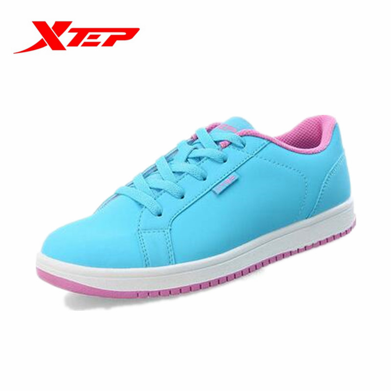 XTEP Womens Outdoor Sport Wear-Resistance Skateboarding Shoes Female Lace-Up Lightweight Skateboard Sneakers 986318313099B1G99<br><br>Aliexpress
