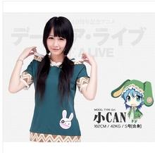DATE A LIVE Yoshino cosplay costume short sleeve tshirt tee t-shirt