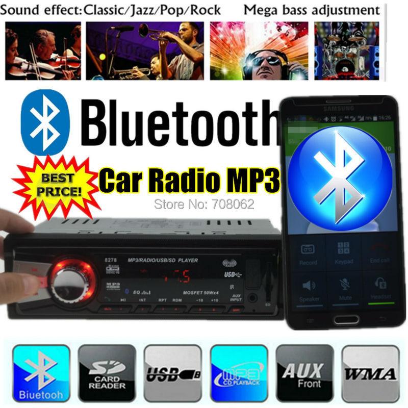 2015 New bluetooth car mp3 player,Car Radio,Car Audio 1 din 12V mp3 for car stereo,FM,SD,USB Port,w/remote control 1131B