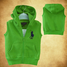 2016 new winter children's girl boys clothing vest warm outwear winter jacket many colors