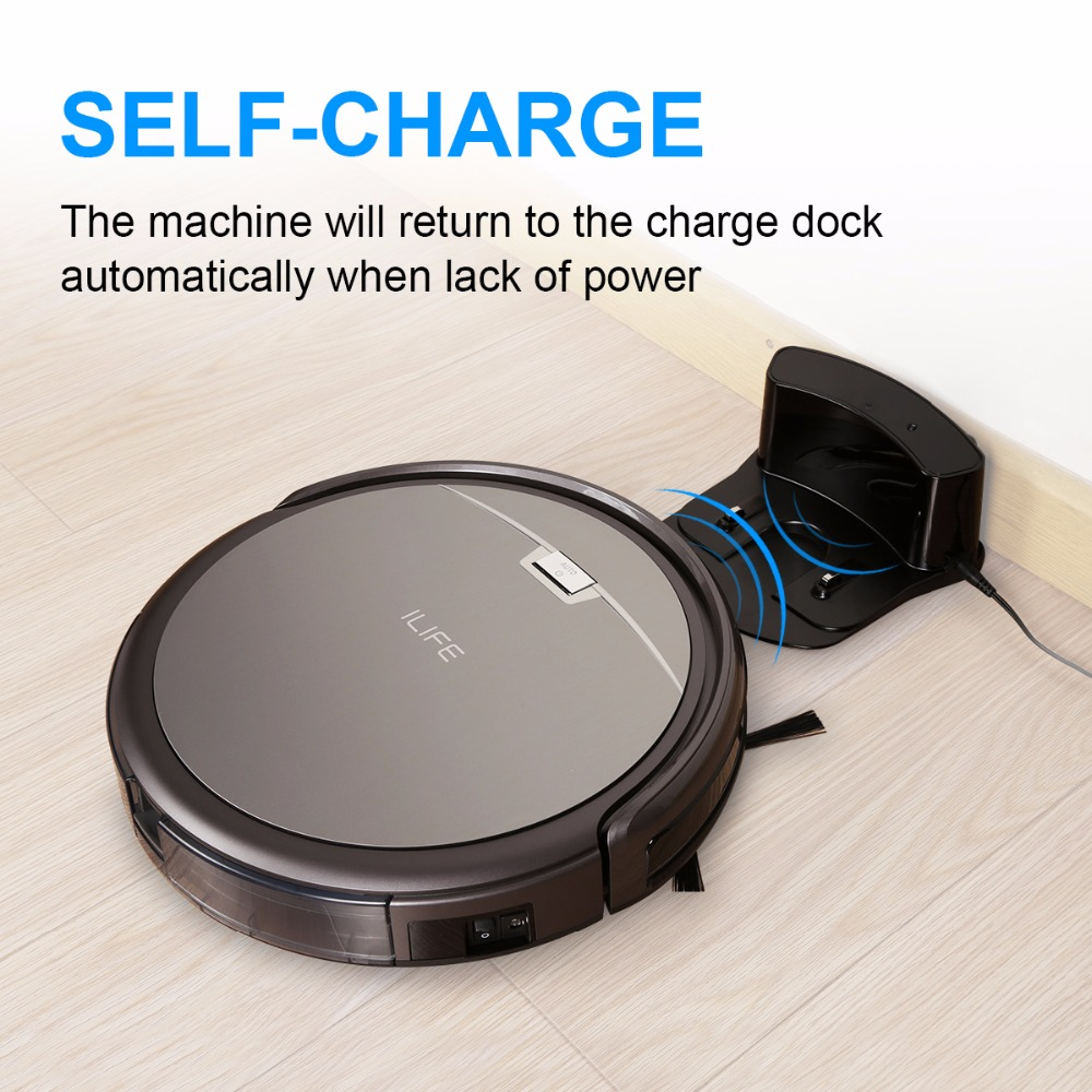 ILIFE A4 Robotic Vacuum Cleaner Cleaning Robot Cleaner Automatic Sweepling Machine OBS All Terrain Detection System(China (Mainland))