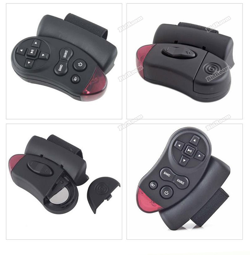 ChicFirm new fashion style Car Universal Steering Wheel Remote Control Learning a wise choice(China (Mainland))