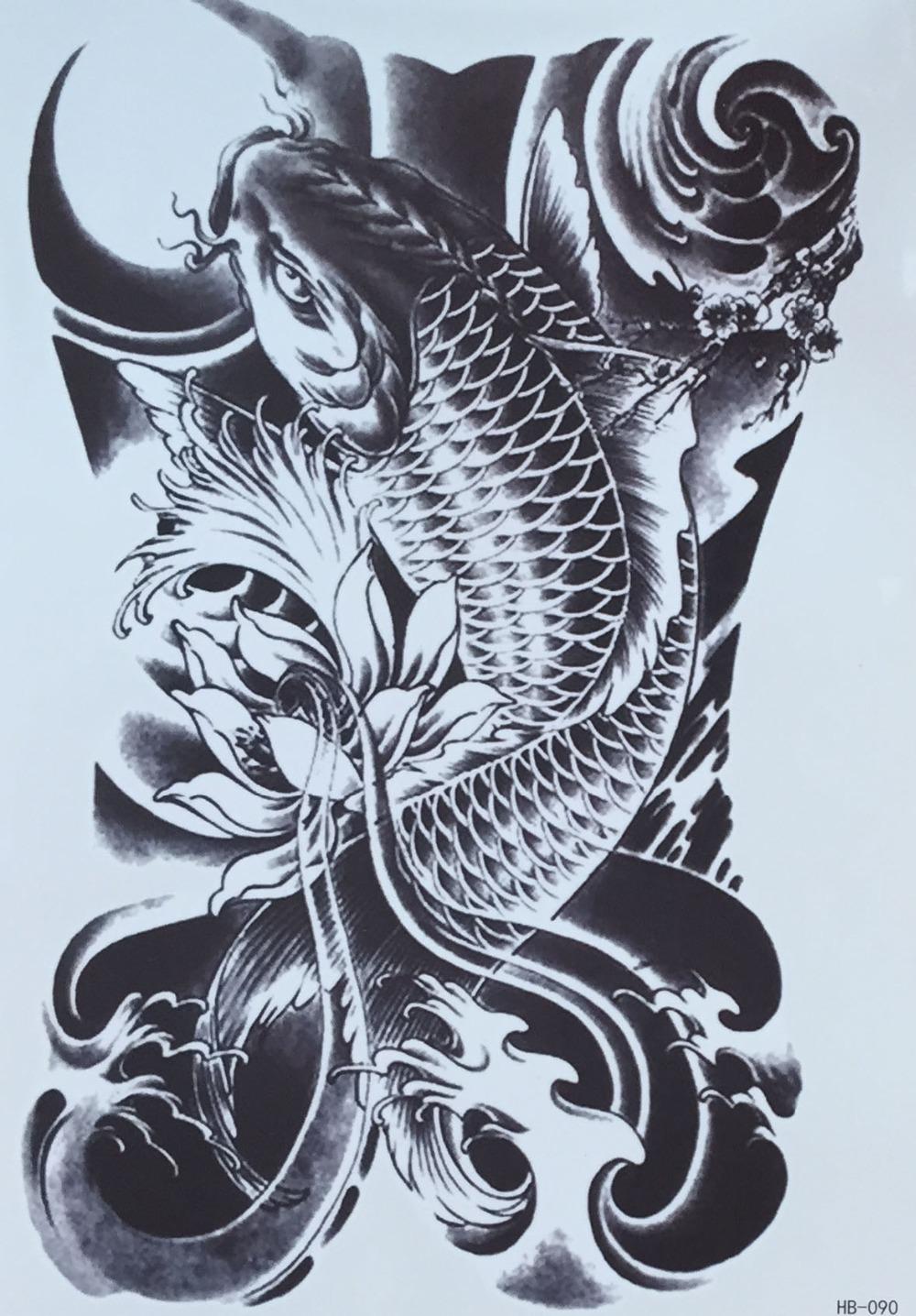 Pez koi black pictures to pin on pinterest tattooskid for Black koi carp