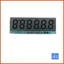 New upgrade EDS826 Small size 6 digits segment lcd screen (China (Mainland))