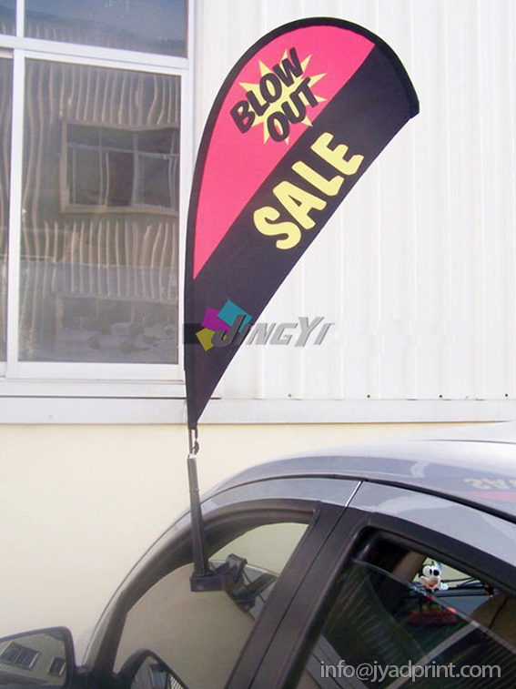 Small Car Window Teardrop Advertising Event Flag Banner(China (Mainland))
