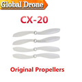 2sets/lot forward & reverse blades cx-20-018 propeller for cheerson cx20 rc drone quadcopter spare parts helicopter monitor