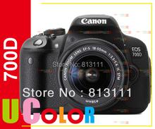 New Canon EOS 700D Rebel T5i Camera Body & EF-S 18-55mm STM Lens Kit(Hong Kong)