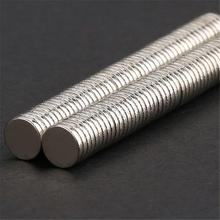 100 pcs Disc Rare Earth Neodymium Super Strong Magnets N35 Craft Mode HH1(China (Mainland))