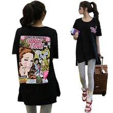 Buy 2017 Fashion women T-shirt Summer cute cartoon Letters Print harajuku t Shirt Women Clothing Oversize Top graphic tees women ) for $12.09 in AliExpress store