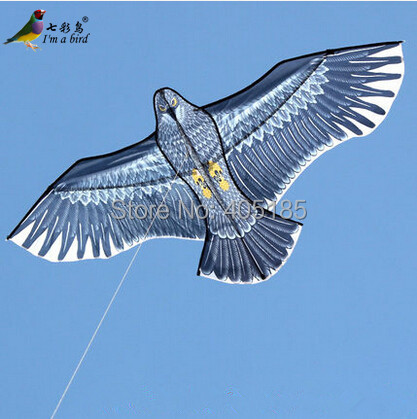 Free Shipping New Toys brand 1.6m Huge Eagle Kite With String Novelty Toy Kites Eagles Large Flying For Gift(China (Mainland))