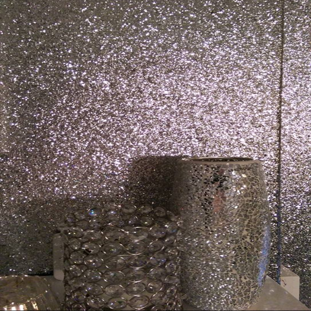 26m Lot Reflective 3d Glitter Wallpaper Modern Glitter