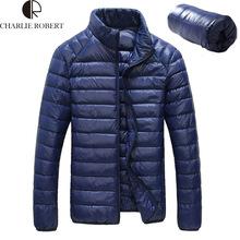 Hot Sale 2016 New Ultralight Men 90% White Duck Down Jacket Winter Outdoor Sport Duck Down Coat Waterproof Down Parkas Outerwear