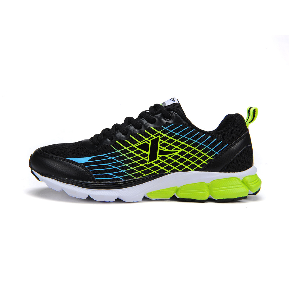 XTEP Professtional Mens Sport Shoes with 4 Colors Stylish Mesh Breathable Athletic Running Shoes for Men Sneakers EUR Size 39-45(China (Mainland))