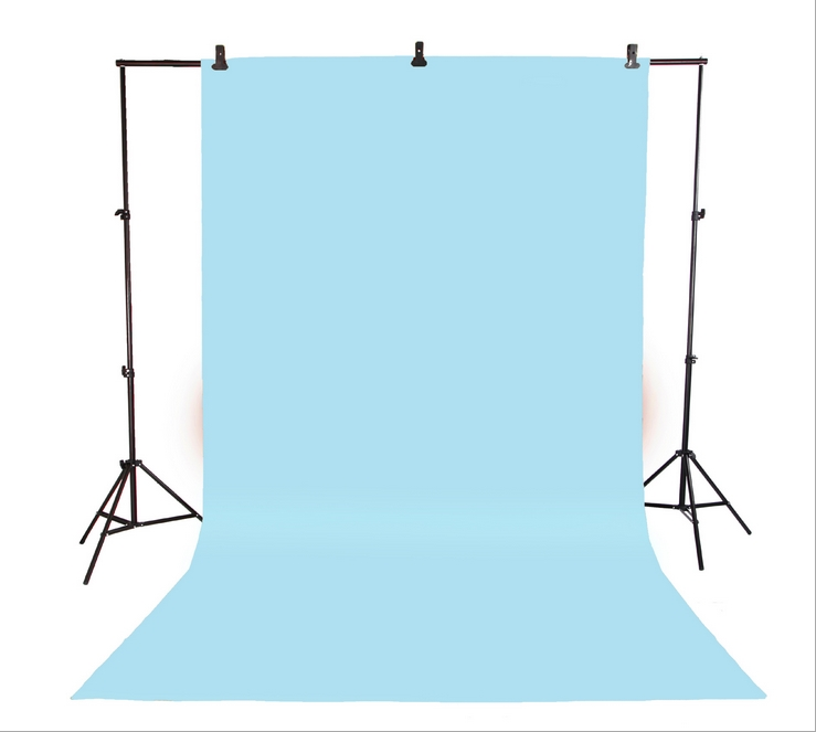 Фотография 6M*3M Professinal photographic equipment 3m x 6m 100% pure Cotton   Chromakey Light blue Screen Muslin Background Backdrop