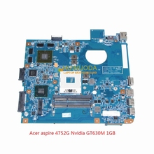 Buy JE40 HR MB 10267-4 48.4IQ01.041 mainboard acer aspire 4750 4752G laptop motherboard HM65 Nvidia GT630M ddr3 for $93.06 in AliExpress store