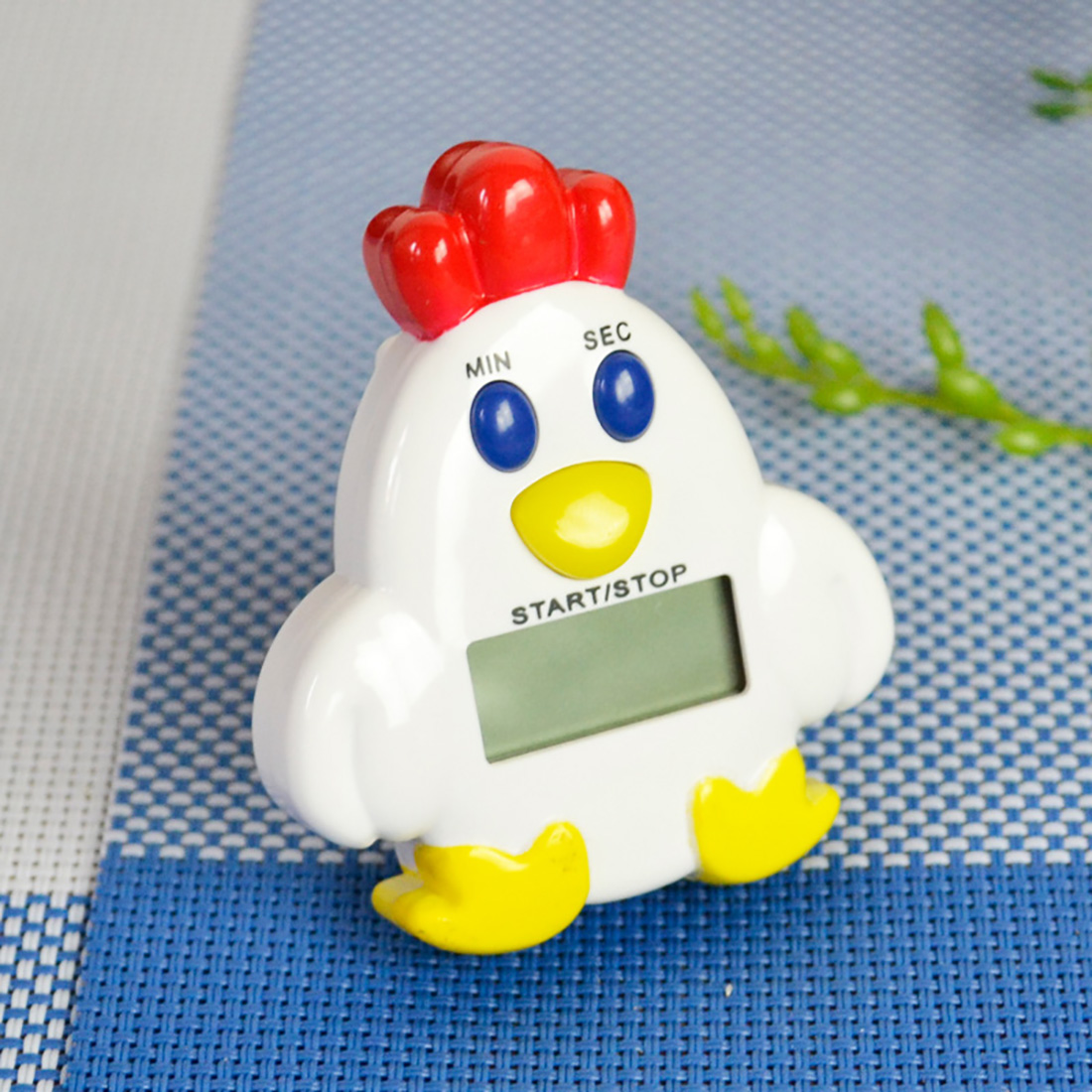 New Cute Magnetic Chicken-shaped Kitchen Countdown Cooking Electronic LCD Digital Timer Timing Alarm(China (Mainland))