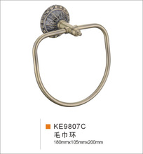 Chinese famous brand sanitary clouds bronze star hotel for all copper towel ring XY1839