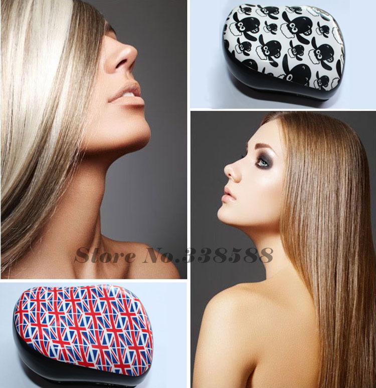 New Hot Majic Detangling Brush Human tanglering Hair Brush Comb Fashion Professional Styling Tools Portable Free shipping(China (Mainland))