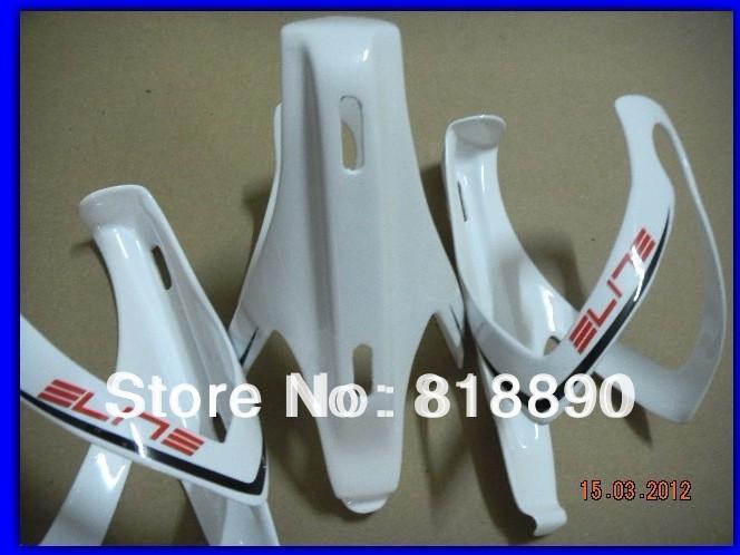 White paint elite carbon fiber bicycle bottle cage(China (Mainland))