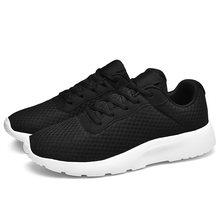 2019 Mannen Vrouwen Wandelen Jogging Sport Schoenen Zwart Wit Lichtgewicht Running Sneakers Goedkope Athletic Trainers Ademende Schoenen(China)