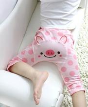 Baby Pants Toddler Capris 2015 New Autumn Boy Pants Girl 1 3 Year Cotton Kids Thin
