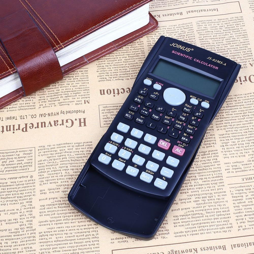 82MS-A Handheld Portable Solar Panel Multi-function 2 Line Display Scientific Calculator(China (Mainland))