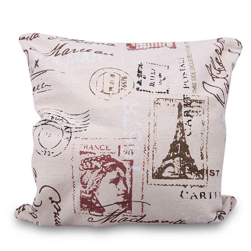 Decorative Pillow Patterns Instructions : 40*40cm Fashion Linen Pillow Case Home Patterns Printed Decorative Pillowcase 10 Patterns E#CH ...