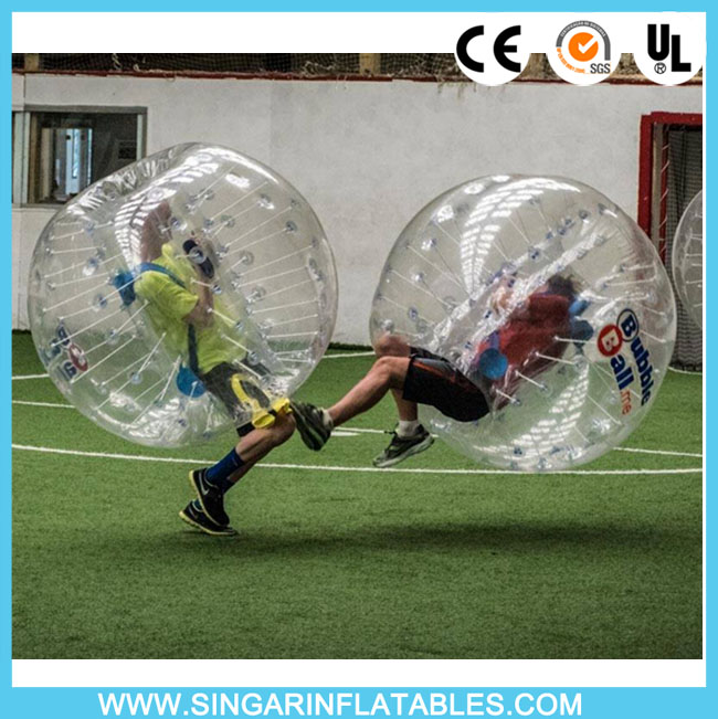 Free shipping 0.8mm PVC 1.2m diameter soccer bubble,inflatable football,bumper ball,battle ball for kids(China (Mainland))