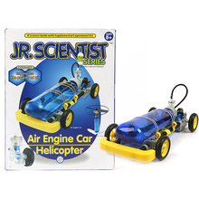 """2016 New High-Quality Air Power Experiment Kit Air Engine Car / Helicopter to make two kinds of mechanics using an """"air engine"""""""