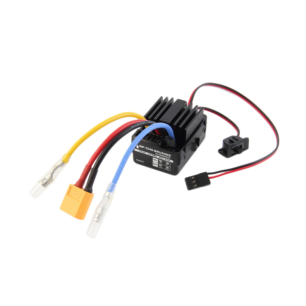 Hobbywing Quicrun Waterproof WP Brushless Motor ESC Controller 60A 10BL60 RC Car/ drone 66 free shipping