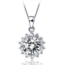 Wholesales Platinum Plated Zircon Pendants Women Crystal Wedding jewelry Necklace pingente colgantes XL1501(China (Mainland))