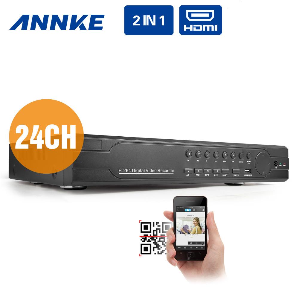 24CH CIF Video Recording CCTV DVR NVR Recorder Surveillance System with HDMI P2P(China (Mainland))