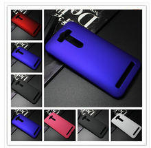5 inch Hard Plastic Rubber Phone Case For Asus Zenfone 2 laser ZE500KL ZE500KG Case,for Asus Zenfone 2 lazer ZE500KL case(China (Mainland))