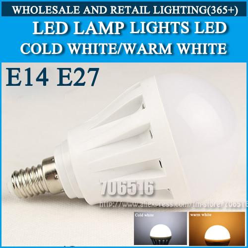 LED lamp LED bulb Led Light Bulb LED E14 E27 Cold white/warm white 4W 5W 9W 10W 15W 20W 25W AC220V 230V 240V(China (Mainland))