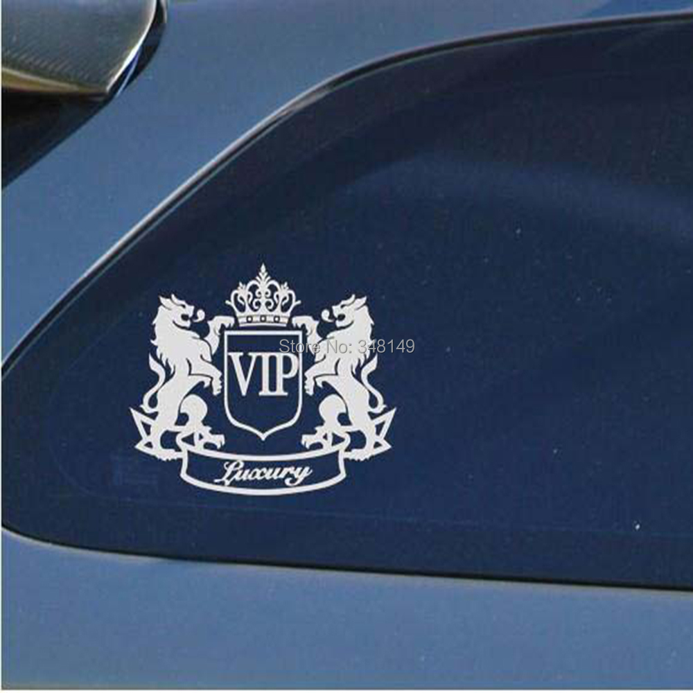 Car Accessories Luxury VIP Lion Reflective Car Sticker And Decal For Motorcycle Chevrolet Cruze Ford Focus VW Skoda Octavia kia(China (Mainland))