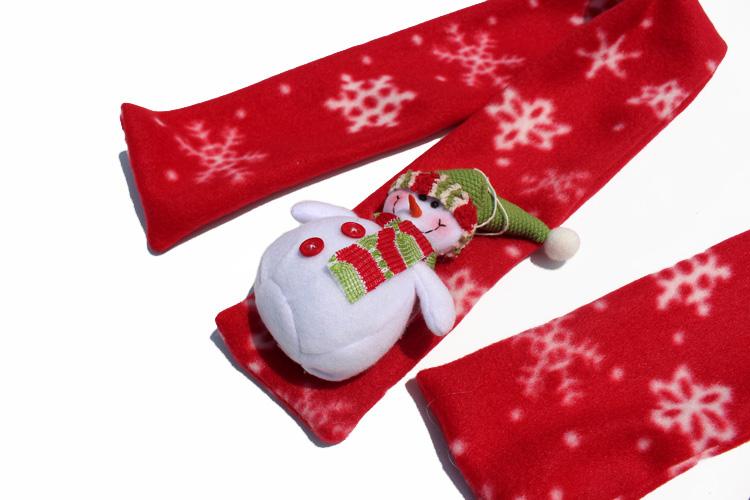 Aliexpress.com Comprar 1 unids Nueva Moda 2015 niños de La Bufanda mantón de las Bufandas de Navidad Santa Claus Warm Home Party 5 estilos de bufanda