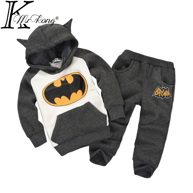2015 new spring autumn outwear children suit girls&boys clothing set hoodie+pants baby kids sport Retail - mrkong offical Store store